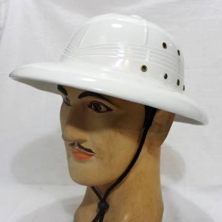 Topi Mandor Bulat Putih SJD