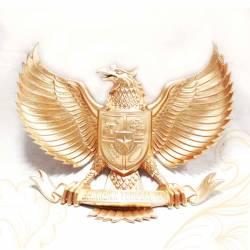 Fiber Garuda Kuning Polos 50 cm SJD