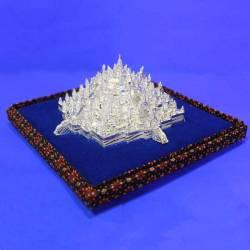 Miniatur Candi Borobudur trap tanggung 12,5x12,5x7,5 cm