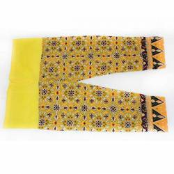 Celana Cakar Halus Panjang Kuning SGM