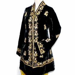 Pakaian Manten Yogya Benang emas putri Streath Permata Hitam SYD