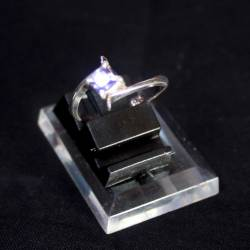 Cincin Perak 925 Lengkung Batu Circon no. 20