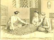 gambar gelar batik