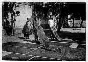 proses batik cap jemur